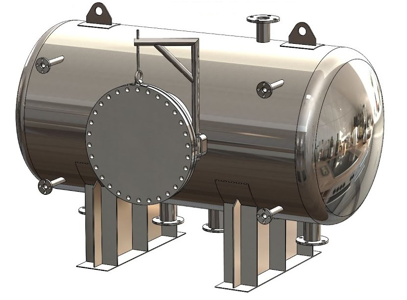 Pressure vessels components